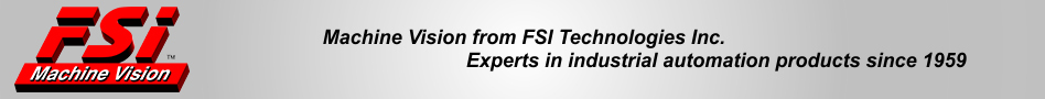 Machine Vision from FSI Technologies Inc.
