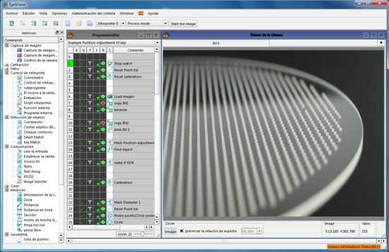 Particle Inspection on Semiconductor Wafers Using EyeVision Software from EVT