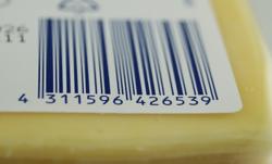 verpackung kaese Barcode